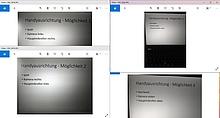 Screenshot von der Windowsvorschau