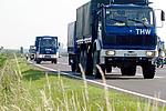 Transport Richtung Ungarn