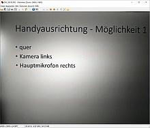 IfranView Screenshot Demobild 1: Handyausrichtung quer, Kamera links, Bild wird korrekt dargestellt